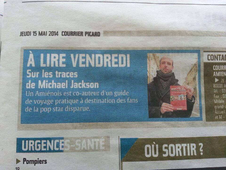 de l'article dans le Courrier Picard...