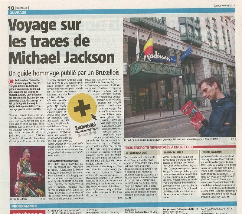 Quotidien belge -  10 avril 2014